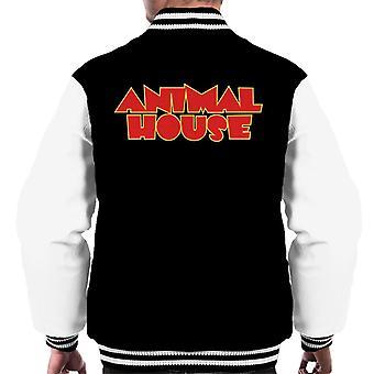 Animal House Röd Logo Män's Varsity Jacket