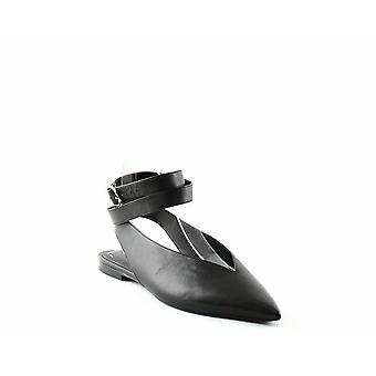 AllSaints | Cory Leather Slingback Flats