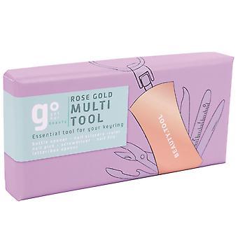 Rose Gold Multi-Tool Kit Schlüsselanhänger