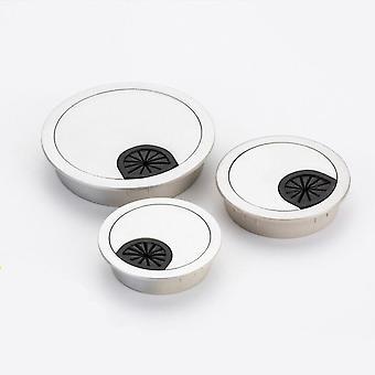 Okrągły kształt, wylot drutu stołowego - Biurko uchwytu kablowego Grommet