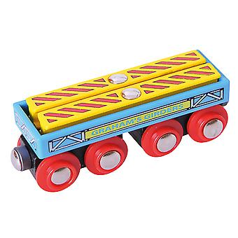 Bigjigs Rail Graham's Girders Wagon