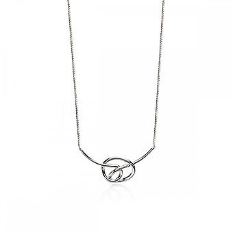 Fiorelli Silver Knot Necklace N3955