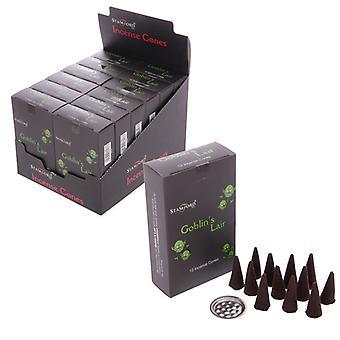 Stamford Black Incense Cones - Goblins Lair X 1 Pack