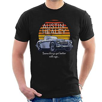 Austin Healey Some Things Get Better With Age British Motor Heritage Men's T-Shirt