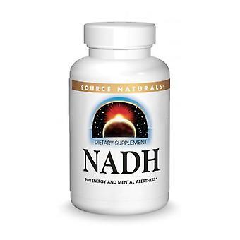 Lähde Naturals NADH, 5 mg, 60 Tabs