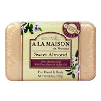 A La Maison Bar Soap, Sweet Almond 8.8 oz