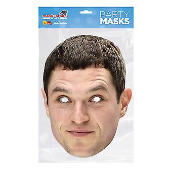 Máscara-arade Matthew Horne Máscara de fiesta