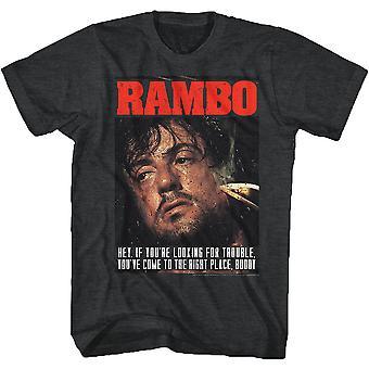 Op zoek naar Trouble Rambo T-shirt