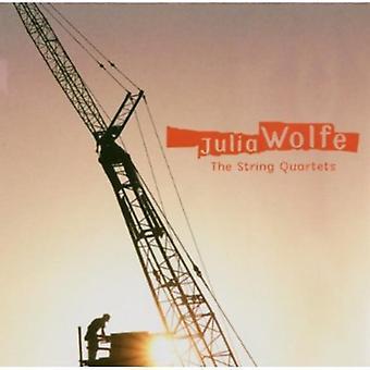J. Wolfe - Julia Wolfe: De strijkkwartetten [CD] USA import