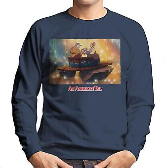 An American Tail Mousekewitz Family Men's Sweatshirt