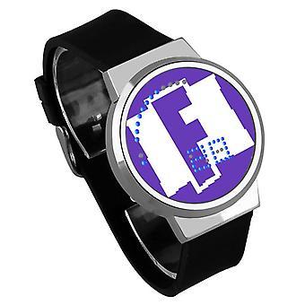 Водонепроницаемые светящиеся светодиодные цифровые сенсорные детские часы - Fortnite #42