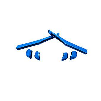 استبدال مجموعة المطاط ل Oakley سريع سترة XL Earsocks معبد & Nosepads الأزرق
