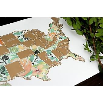 Peachy Botanicals Usa Map