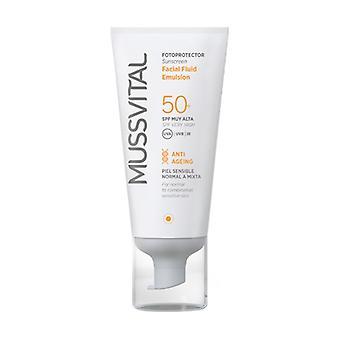 Fluid Emulsion Facial Sunscreen 50+ 50 ml of cream