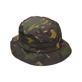 Walker and Hawkes - Uni -Sex Wax Bucket Hat Camo