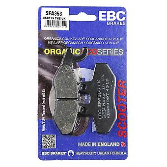 EBC SFA353 Front Scooter Brake Pads For Vespa GTS 300 Super Sport ie ABS 2010-2015