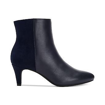 Alfani Womens Hariss Leather Almond Toe Ankle Fashion Boots