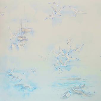 Galerie Nautical Boats Blue