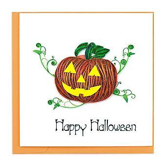 Quilling Card – Halloween Pumpkin