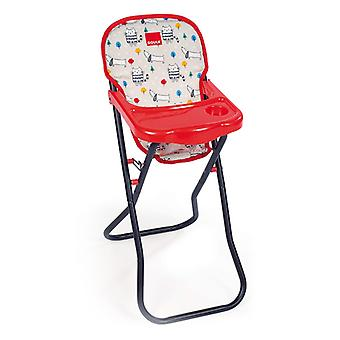 Dolls Accessories Diset Goula High Chair Dog and Cats