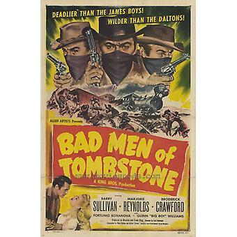 Bad Men of Tombstone Movie Poster Print (27 x 40)