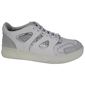 Puma AMQ Alexander McQueen Move Low White Leather Mens Trainers 358543 02 B69