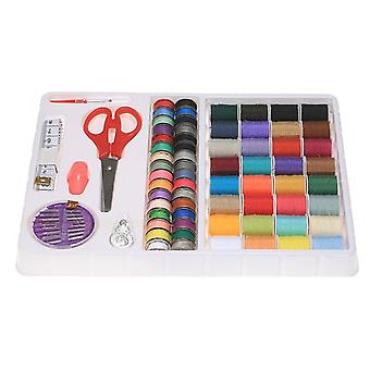 100 Pieces Of Sewing Accessory Kit, Colored Metal Spools, Tape Measure