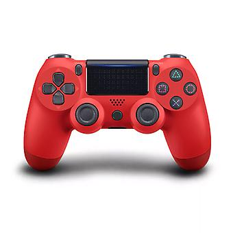 DoubleShock Bluetooth Wireless Joystick for PS4, Red