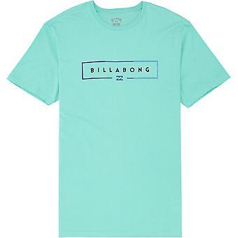 Billabong Mænd's Premium T-shirt ~ Unity lt aqua