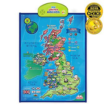 Best learning i-poster my united kingdom interactive map - educational talking toy for boys and girl