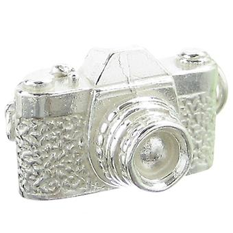 Camera Sterling Silver Charm .925 X 1 Cameras Photography Charms - 260