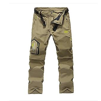 Quick Dry Removable Hiking Pants, Outdoor 6xl Mens Summer Breathable Pants