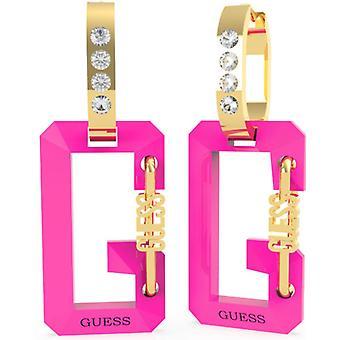 G SNAP Gissa Smycken - Örhängen;Öron silver G rosa och Swarovski kristaller