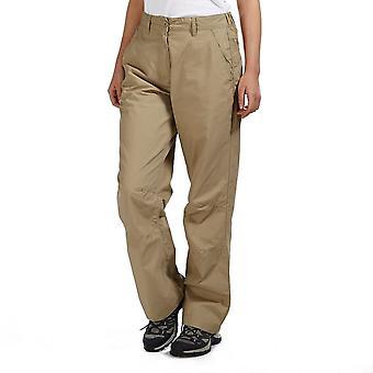 New Peter Storm Women's Ramble Trousers Short Beige