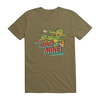 Teenage Mutant Ninja Turtles Mine Mine Group Pizza Chase Vihreä T-paita