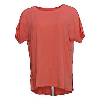 عناق Duds Women & apos;s Top Softwear Stretch Short Sleeve Tee Pink A346853