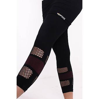 Lotus Yoga Skirt Capri Pants - Organic, Black