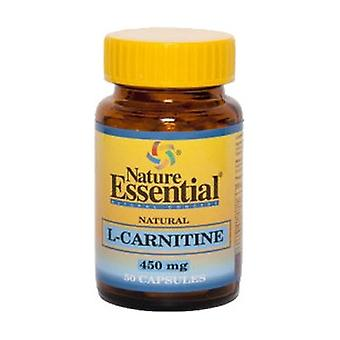 L-Carnitine 50 capsules of 450mg
