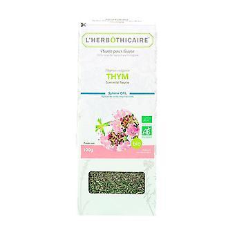 Organic thyme flowering top 100 g