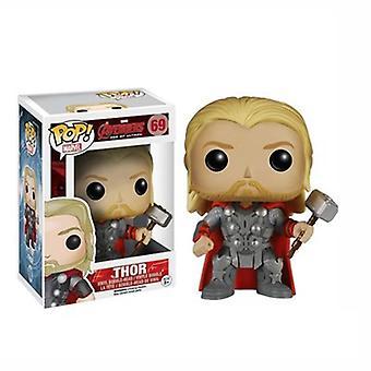 Pop Avengers Hulk Tony Stark Iron Man Captain America Action Figure Model