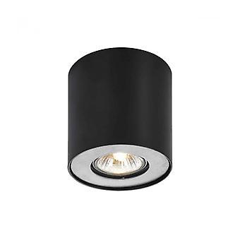 Lámpara De Techo Spot Moderna Tamzo Black