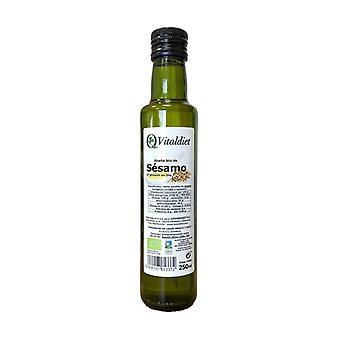 Organic Sesame Oil 250 ml of oil