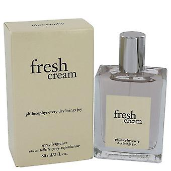 Fresh Cream Eau De Toilette Spray By Philosophy 2 oz Eau De Toilette Spray