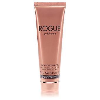 Rihanna Rogue Shower Gel By Rihanna 3 oz Shower Gel