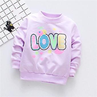 Newborn Cartoon Cotton Long Sleeves T-shirts Top Outfits
