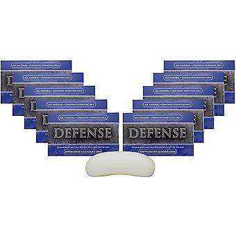 Defense Soap 4 oz. Antimicrobial Therapeutic Bar Soap - 10 Pack - Original