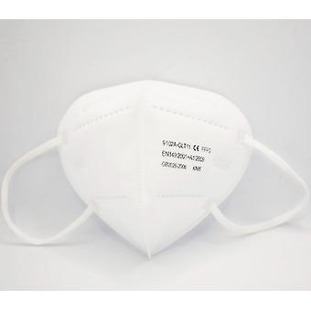 10-100 Pcs Flu Facial Masks Fpp2 5-layer Filter Protection Masks
