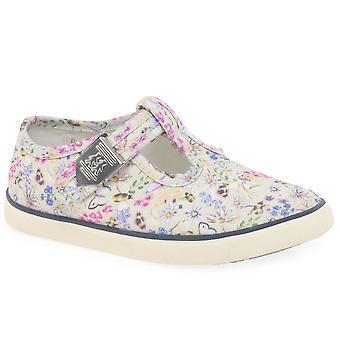 Start-Rite Summer Girls Canvas Shoes