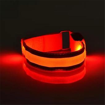 Light Band Reflective Led Light Arm Armband Strap Safety Belt