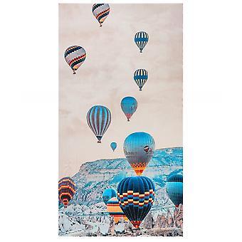 Ahujasons varmluftsballongtryck halsduk